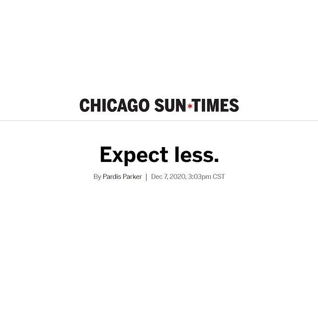 Chicago Sun-Times - Expect Less