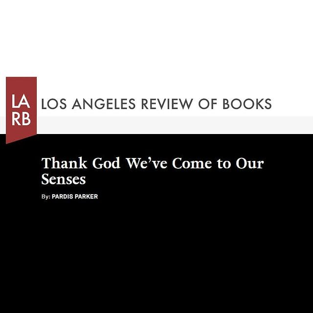 Los Angeles Review - Thank God We've Come to Our Senses